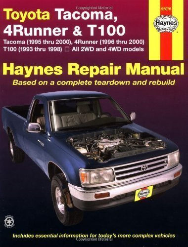 1999 toyota tacoma repair manual pdf